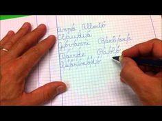 Grafiche Logos il quadernino del corsivo 1920x1080 - YouTube