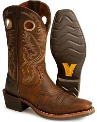 Ariat Heritage Rough Stock Cowboy Boots - Square Toe - Sheplers
