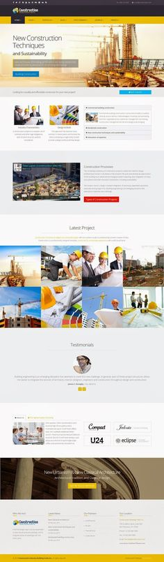Best Responsive #Construction Business #Joomla Template 2015