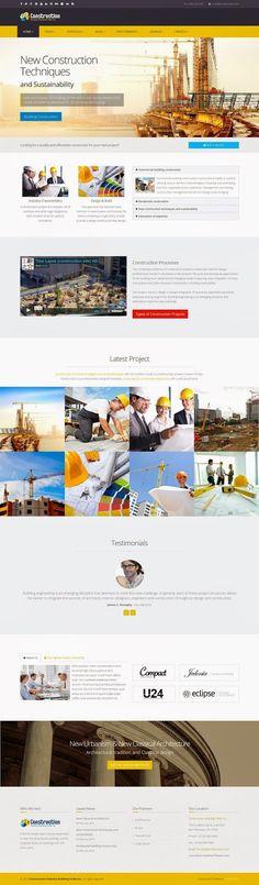 Best Responsive #Construction Business #Joomla Template 2015