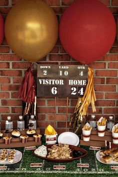 Are You Ready For Some Football? Vintage Football Party Tailgate, Girls love the game