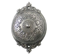 Savannah Rotary Doorbell, Antique Nickel