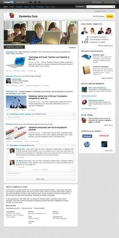 Das neue #LinkedIn Unternehmensprofil