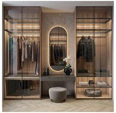 Wardrobe Room, Wardrobe Design Bedroom, Bedroom Furniture Design, Bathroom Interior Design, Glass Wardrobe, Bedroom Ideas, Wardrobe Cabinets, Small Wardrobe, Sliding Wardrobe