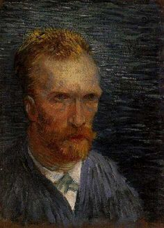 Self Portrait, 1887, Vincent van Gogh
