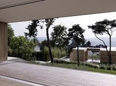 2 Verandas Villa by Gus Wüstemann [ Switzerland ] Sliding Patio Doors, Sliding Windows, Therme Vals, Concrete Houses, Beautiful Villas, Contemporary Architecture, Contemporary Houses, Minimalist Architecture, House Architecture