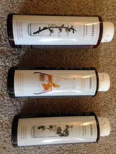 KORRES Natural Hair Care – Shampoo, Conditioner, Mask, 100% Free of Synthetic Ingredients - see BEFORE/AFTER PHOTOS/REVIEW BELOW>