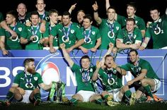 Headline Ireland: Six Nations champions on O'Driscoll's final day Six Nations Rugby, Rugby Men, Final Days, Real Man, Finals, Ireland, Irish, Champion, Sports