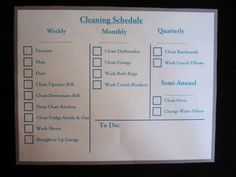 Saving my sanity – cleaning schedule Oven Cleaning, Rug Cleaning, Cleaning Schedules, Clean Fridge, Clean Dishwasher, Clean Garage, Save Me, Clean House, Personalized Items