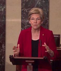 Sen. Elizabeth Warren Rips The SEC For Failing to Protect the Public