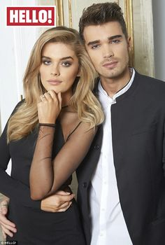Lovebirds: Union J singer Josh Cuthbert and his gorgeous girlfriend Chloe Lloyd have opened up about their emotional engagement in the pages of HELLO! magazine