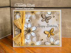 Garden in Bloom Birthday! by AEstamps2 - Cards and Paper Crafts at Splitcoaststampers