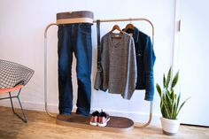 What do you do with once-worn clothes?