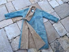 LHAMO ROBE IT (SHEEPSKIN) *FIL EXCLUSIVE - LT INDIGO