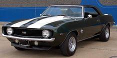 1969 Camaro one of many favorite cars.