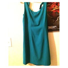 "Selling this ""Forever 21 Teal dress"" in my Poshmark closet! My username is: melissaalopez. #shopmycloset #poshmark #fashion #shopping #style #forsale #Forever 21 #Dresses  Skirts"