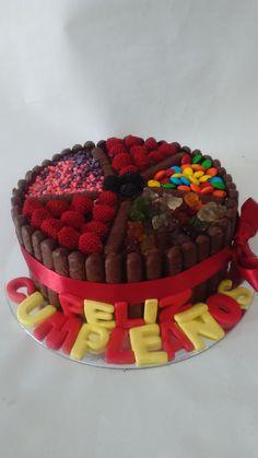 Raspberry, Birthday Cake, Fruit, Desserts, Cakes, Food, Tortilla Pie, Deserts, Kuchen