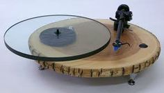 Nature turntable