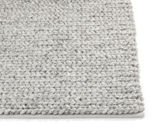 Plait Rug Silver in charcoal                                                                                                                                                                                 More