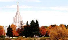 Idaho Falls Idaho Temple. #LDS #Mormon