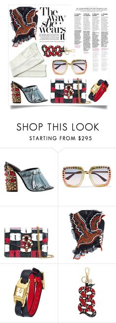 """Luxury Life Style"" by hotsarrisstyle ❤ liked on Polyvore featuring Gucci, Mary Katrantzou, Tory Burch, 60secondstyle and outdoorconcerts"