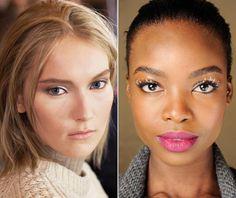 Fashion Week Beauty Trend: Heavy Metal Eyes  #InStyle