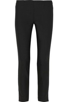Theory Stretch-wool skinny pants | NET-A-PORTER