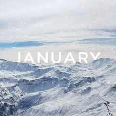 JANUARY IS A FRESH START and an opportunity to set the tone for the rest of the year! What goals do you have for the new year?