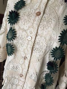秋の装い : lace diary #lace #レース #miyaco