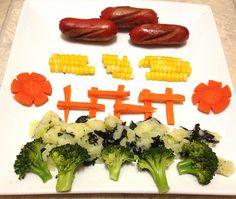 Kids meal kids dinner food art