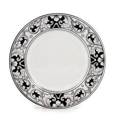 DERUTA - 'VARIO, NERO' Collection - Salad Plate | Artistica Italian Ceramics