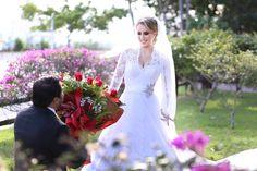 Surpresinha para noiva na sessão externa #amomeusnoivos