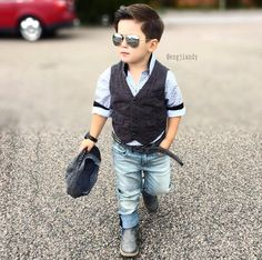 New Baby Boy Fashion Toddlers Products Ideas Toddler Boy Fashion, Toddler Outfits, Baby Boy Outfits, Toddler Boys, Outfits Niños, Kids Outfits, Boys Summer Outfits, Moda Chic, Stylish Boys