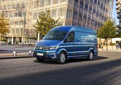 VW e-Crafter Concept - Elektrotransporter kommt 2017