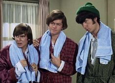 """Davy Jones, Micky Dolenz & Mike Nesmith in """"The Case of the Missing Monkee. Homecoming Queen, Davy Jones, The Monkees, Rock And Roll, Classic Rock, Bands, Style, Swag, Rock Roll"""