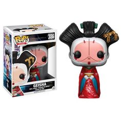 (affiliate link) Ghost in the Shell Geisha Pop! Vinyl Figure