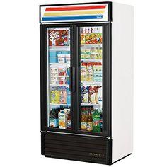 #refrigerators #True GDM-35-LD Glass Door Merchandisers.