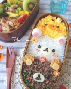 Problemlos Dora Chan Mittagessen The Effective Pictures We Offer You About kids lunch daycare A qual Comida Disney, Bento Kids, Bento Food, Japanese Food Art, Japanese Bento Box, Kawaii Cooking, Bento Recipes, Cute Desserts, Cafe Food