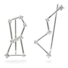 Constellation Earrings (445.395 VND) ❤ liked on Polyvore featuring jewelry, earrings and earrings jewelry