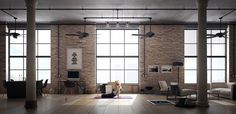 This Zen loft is beautifully organized to shut out your workload when you walk into it.
