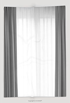 Custom Throw Blanket Transparent Curtain On Window Curtain Background 393362164 and Comfortable -- Want to know more, click on the image.-It is an affiliate link to Amazon. #WindowCurtain