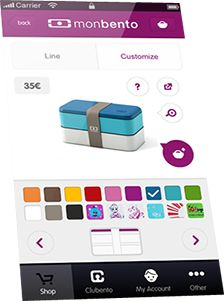 monbento launches its app: 1 iPad and 100 bentos to win!