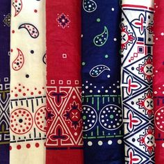 bandanas from Hickorees.com