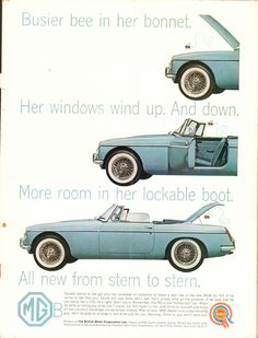 https://flic.kr/p/SiZRCc | 1963 MGB Advertisement Sports Car Graphic December 1962 | 1963 MGB Advertisement Sports Car Graphic December 1962