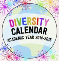 Kid World Citizen Diversity Calendar Academic Year 2014-2015 Multicultural holidays celebrations around the world global religious festivals