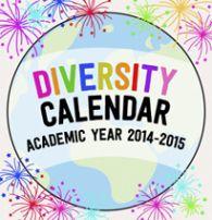 Kid World Citizen Diversity Calendar Academic Year 2014-2015 Multicultural holidays celebrations around the world global religious festivals