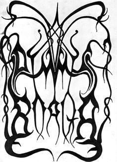Metal Band Logos, Metal Font, Metal Bands, Kinds Of Music, Music Love, Dimmu Borgir, Chaos Lord, Old Logo, Black Death
