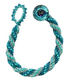 Video from Jill Wiseman: Stitches: Double Spiral Rope  ~ Seed Bead Tutorials