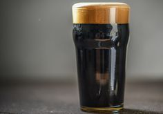 Coconut Sweet Stout with Almonds