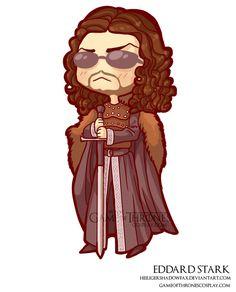Eddard Stark // Cersei Lannister // Game of Thrones cosplay group http://www.gameofthronescosplay.com   by Sara Manca http://heiligershadowfax.deviantart.com/